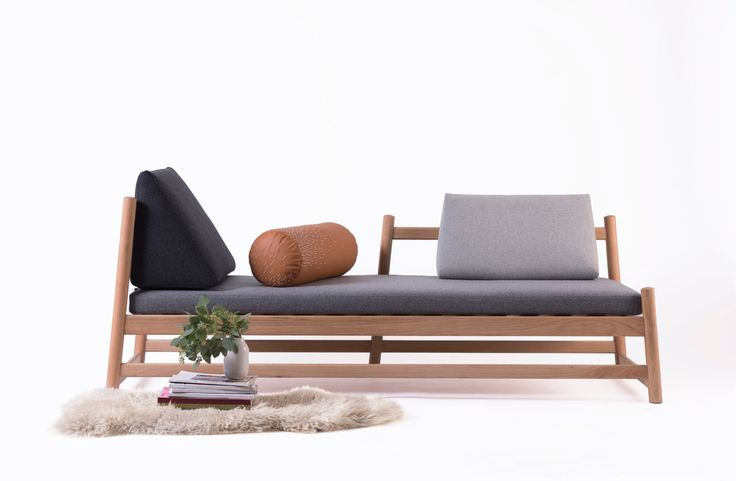 Whether you need places to sit during the day or a bed for overnight guests, the Pita Daybed from Peca functions in any room for both.