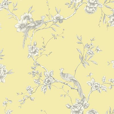 Chinoise Yellow wallpaper by Arthouse