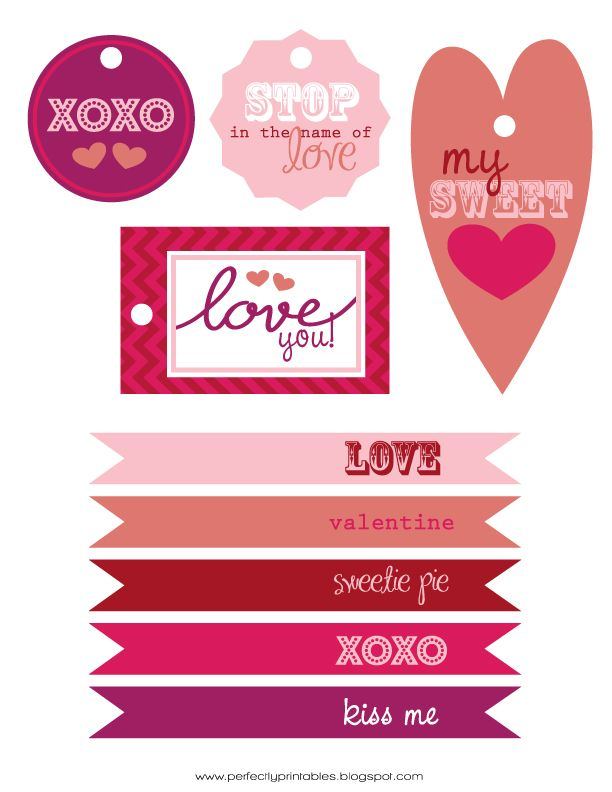 FREE Valentine's Day Printables! Download here: http://www.prettymyparty.com/free-valentines-day-printables/