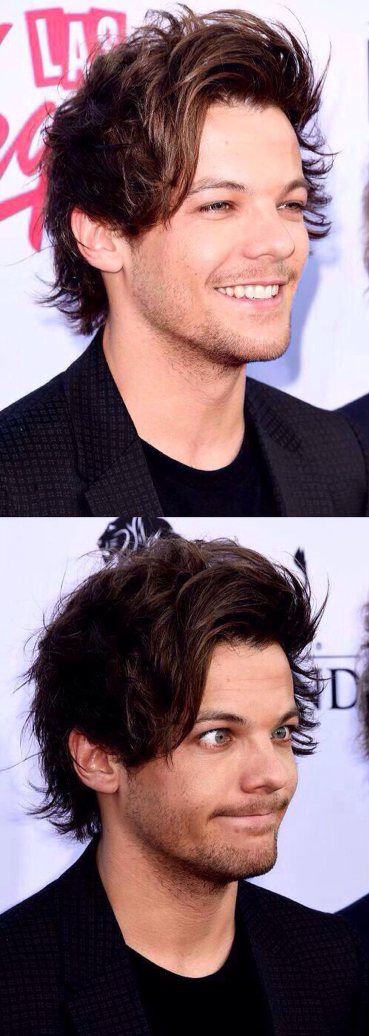 Louis tomlinson lets his hair down in manchester after splitting from - Louis Tomlinson Bbmas 2015 Tati1d5