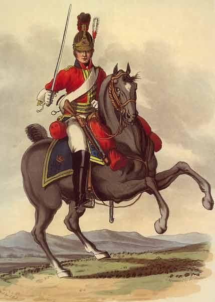 Not to be messed with.  A trooper of the Life Guards (Royals).  The 1st Regiment…