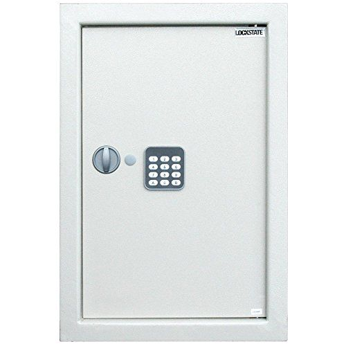 LockState LS-52EN Large Digital Wall Safe - http://safescenter.com/lockstate-ls-52en-large-digital-wall-safe/