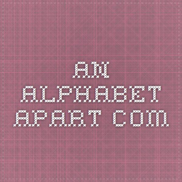 an-alphabet-apart.com