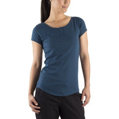 MEC Sweetgrass Short Sleeve Top (Women's) - Mountain Equipment Co-op. Free Shipping Available $36