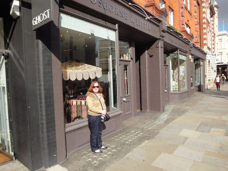 Osborne & Little Showroom Kings Road Chelsea,London.