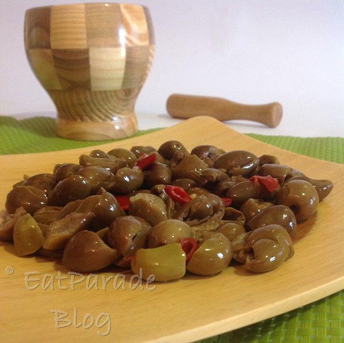 Olive ammaccate alla calabrese