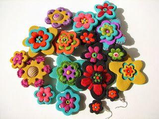fimo con crochet