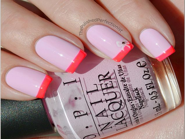 French Manicure Nail Art Design Trends -