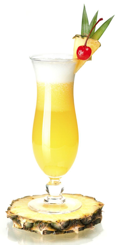 10 cl de jus d'ananas 5 cl de lait de coco 3 cl de rhum brun 3 cl de rhum blanc…