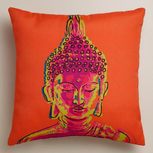 Floor Cushions Anthropologie : One of my favorite discoveries at WorldMarket.com: Buddha Outdoor Throw Pillow #Anthropologie # ...