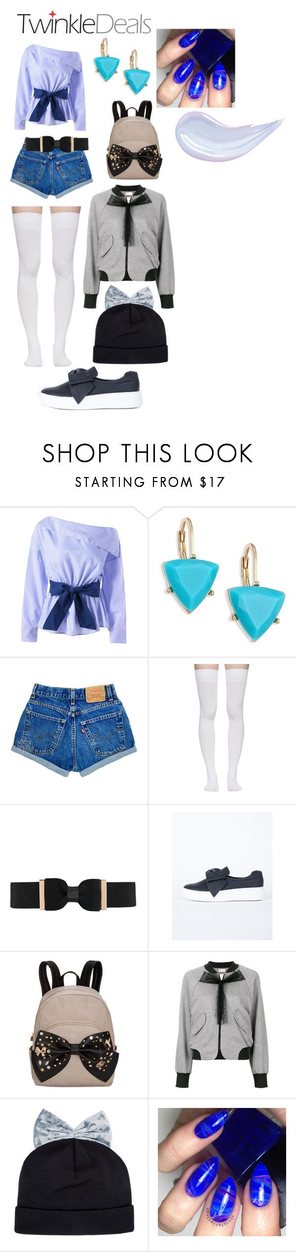 """""""bow"""" by crythin on Polyvore featuring ABS by Allen Schwartz, Marieyat, City Chic, Betsey Johnson, RED Valentino and Federica Moretti"""
