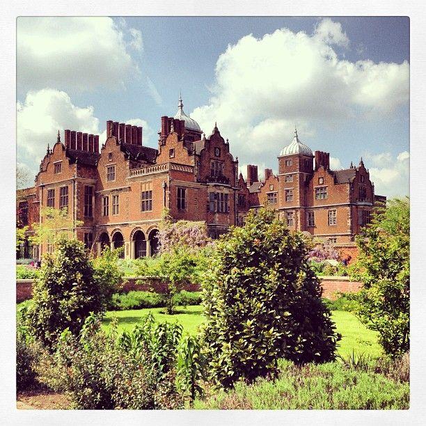 Aston Hall, Birmingham UK, looking beautiful in the sunshine.