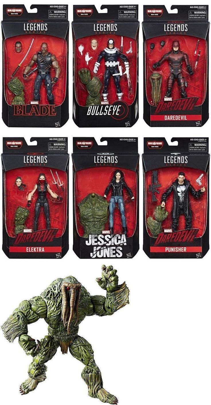 Comic Book Heroes 158671: Marvel Legends Netflix Marvel Knights Action Figures Baf Man-Thing 2017 New! -> BUY IT NOW ONLY: $129.89 on eBay!
