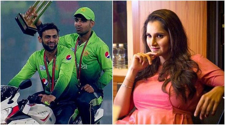 Sania Mirza unhappy after husband Shoaib Malik takes teammate for bike ride and not her - The Indian Express #757Live