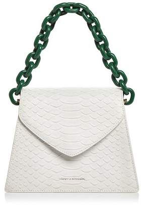 2a62b1418 Top 50 Most Wanted April | Shop this Tammy & Benjamin Snake-Embossed  Leather Shoulder Bag at ShopStyle