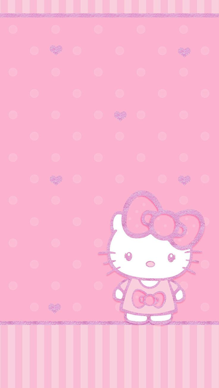 Who android wallpaper pictures of snow free hello kitty wallpaper -  Hello_kitty Pink Wallpaper