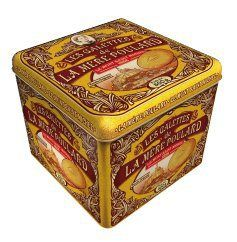 La Mere Poulard Galettes - Shortbread cookies from France, Metal Gift tin 17.6oz - http://mygourmetgifts.com/la-mere-poulard-galettes-shortbread-cookies-from-france-metal-gift-tin-17-6oz/