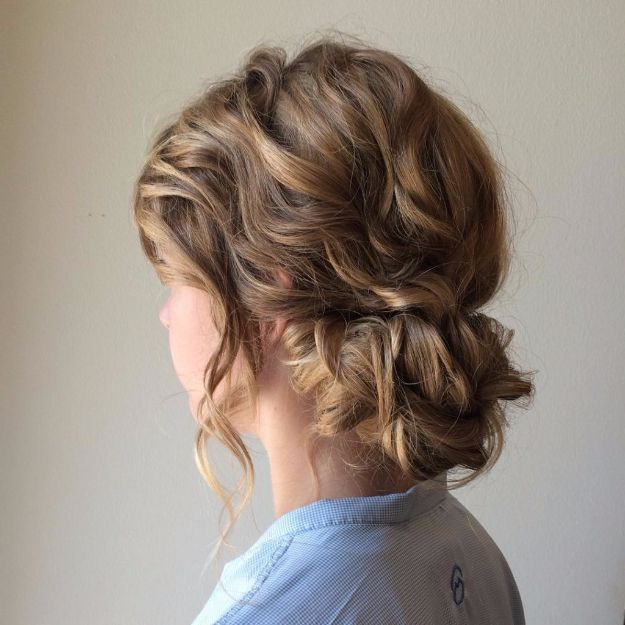 Quick and Easy Updo Hairstyles - Simple Bun Updo Hairstyles - Hair Hacks And Popular Haircuts For The Lazy Girl. Hairdos and Up Dos Including The Half Up, Chignons, Twists, Beauty Tips, and DIY Tutorial Videos For Bangs, Products, Curls, The Top Knot, Coiffures, and Shoulder Length Hair - https://thegoddess.com/quick-easy-updo-hairstyles
