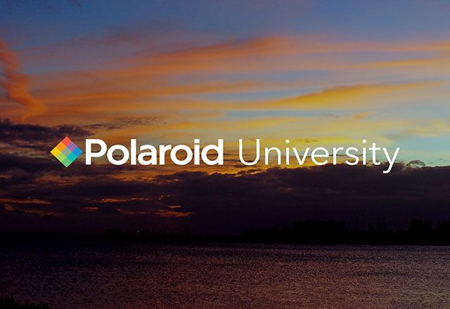Polaroid University is an Online Photography School Taught by Industry Pros