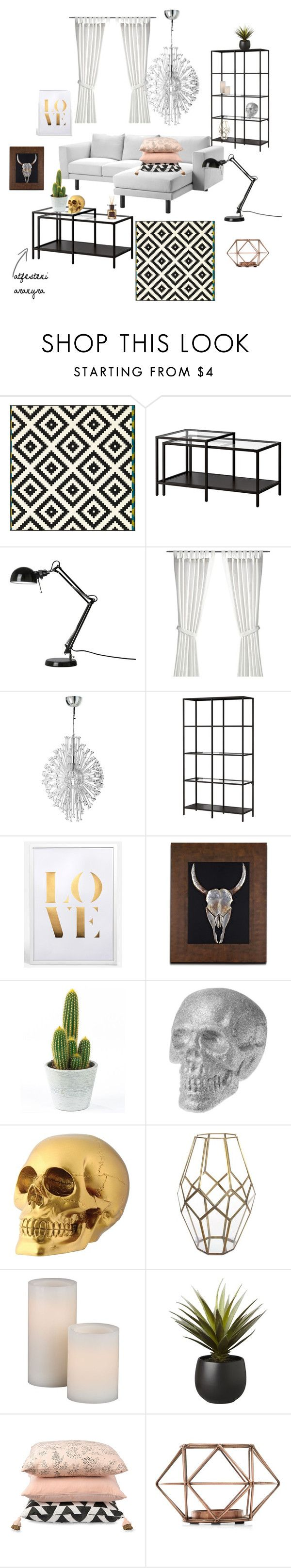 """nappali tervek"" by georgina-muller on Polyvore featuring interior, interiors, interior design, home, home decor, interior decorating, Shishi, CB2 and Culti"