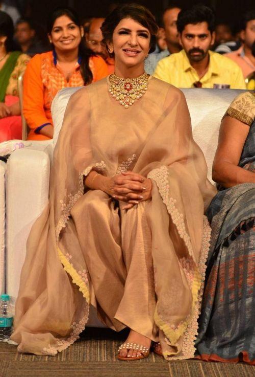Lakshmi Manchu in Anamika Khanna