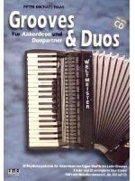 HAAS P.M. - GROOVES & DUOS - € 23,95 Accordeon wereldmuziek, Accordeon solo + CD, AMA AMA610472