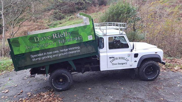 Land Rover Defender 130 tipper