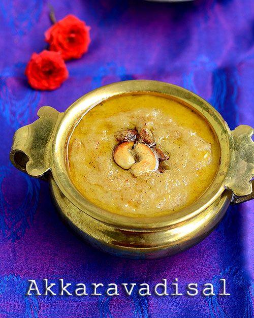 Iyengar( Tamil brahmin) style Akkaravadisal recipe,Akkara adisal-Sweet pongal with milk