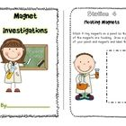 Give your students hands on experience with magnets with these fun station activities.  In this product, students can complete a small booklet with...