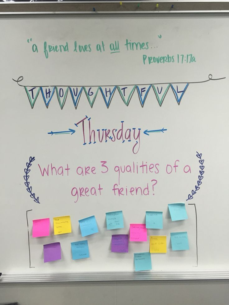 Thoughtful Thursday // morning message