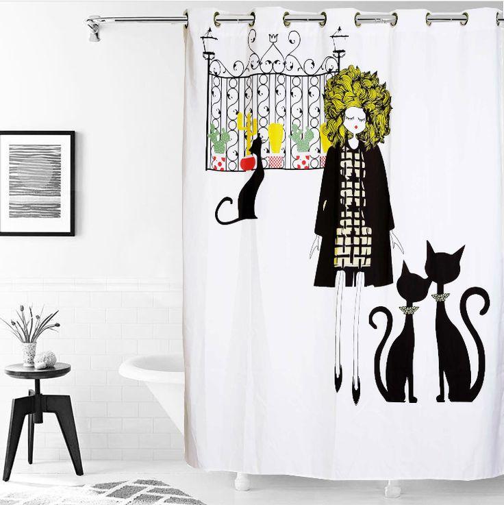 1000+ ideas sobre Cortinas De Baño en Pinterest ...