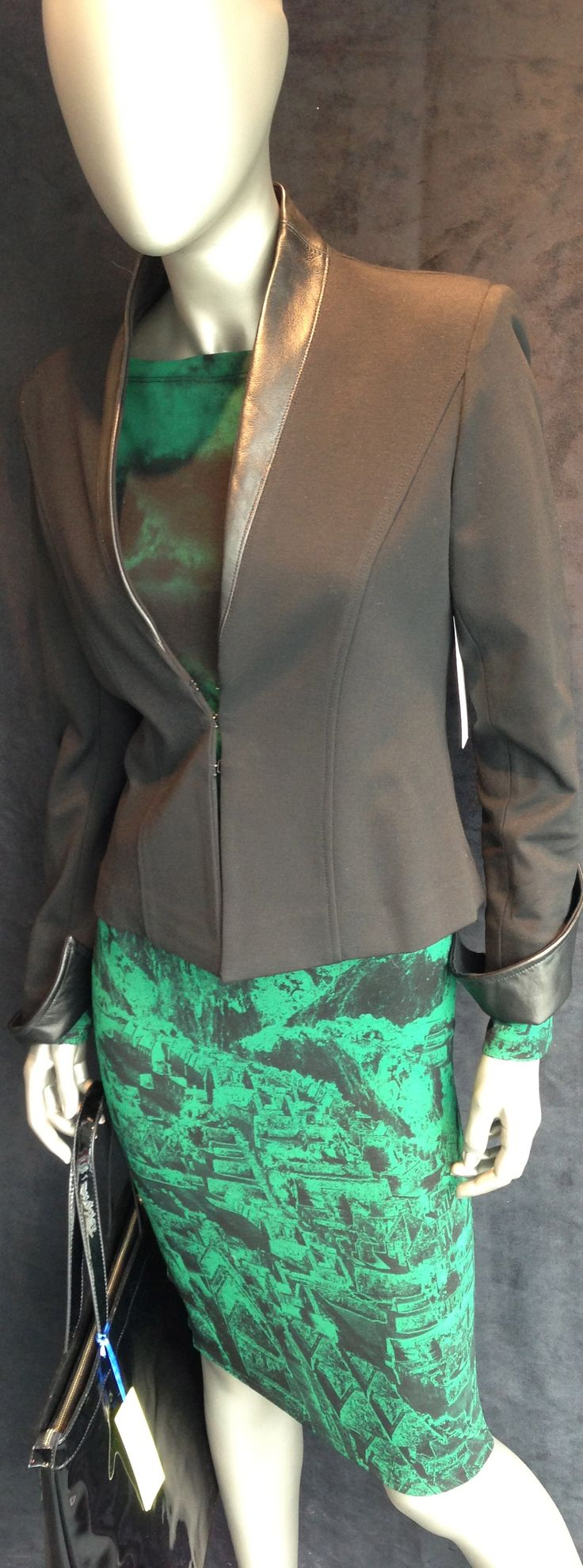 #leather #suit #isabeldepedro we are ready for fall!
