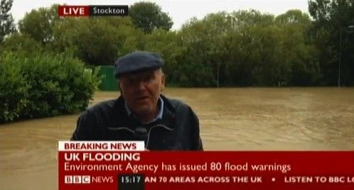 BBC News Channel conducts live video interview over smartphone, goes where satellites can't (update with video).