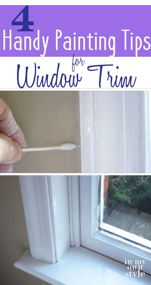Diy painting house trim