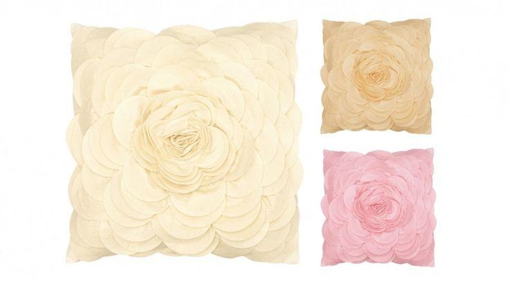 Floral Felt Cushion - Decorator Items - Furniture, Outdoor & BBQs | Harvey Norman Australia