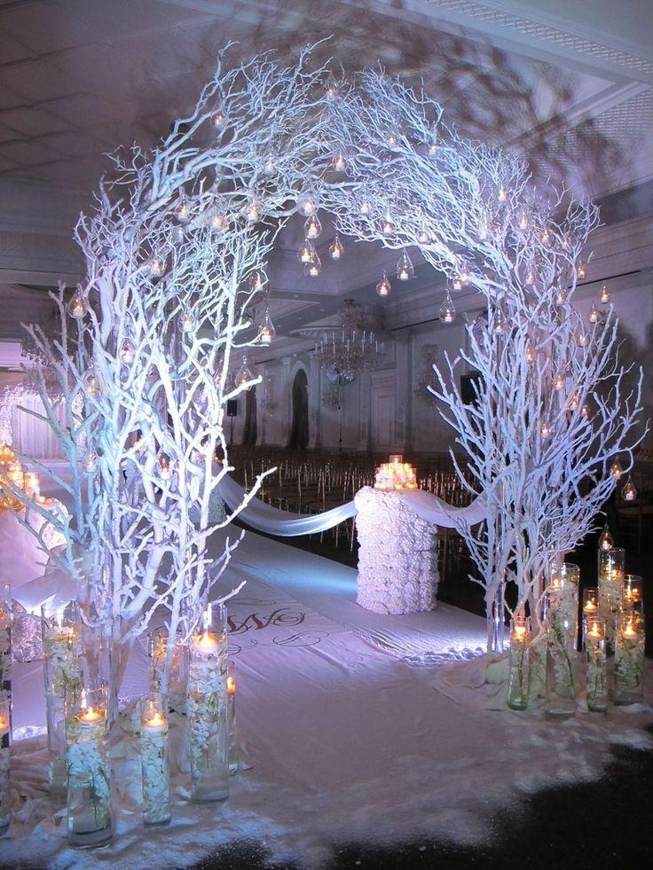 Awesome 37 Awesome Winter Wonderland Wedding Decoration