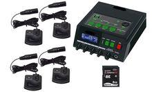 Martel DM246 Four Omni-Directional Microphone & Transcription Package