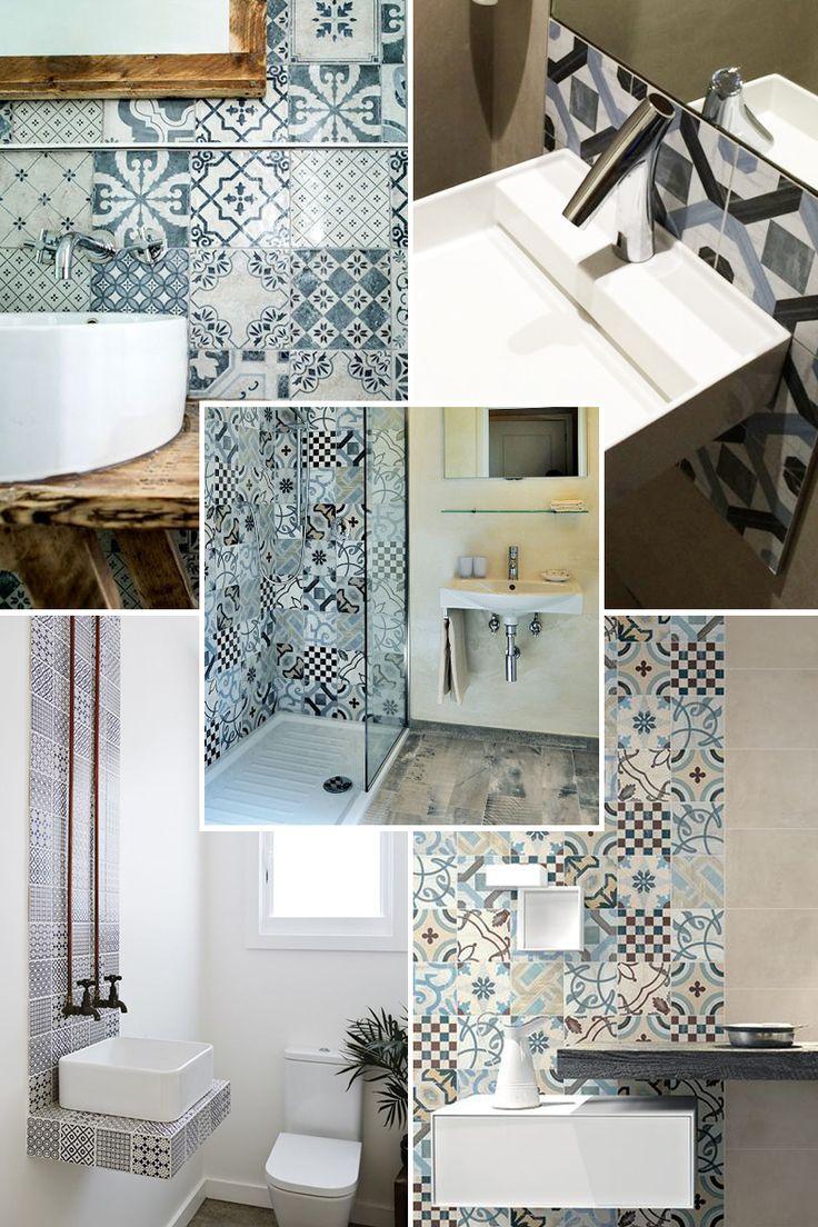 Oltre 25 fantastiche idee su piastrelle per doccia su - Cementine bagno ...