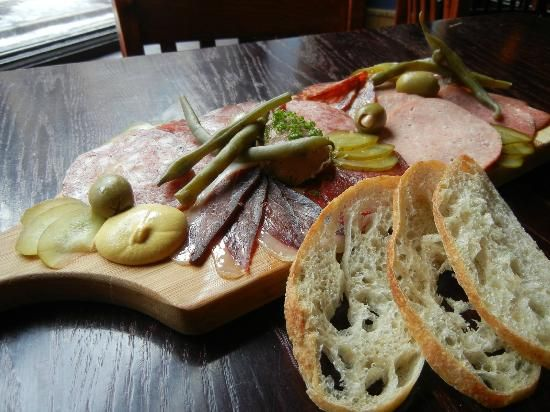 Peasant Cookery: Charcuterie board