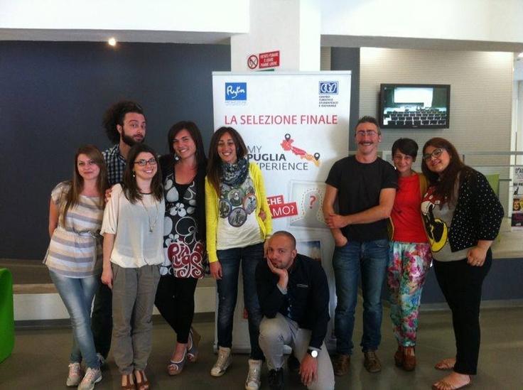 Durante le selezioni dei Tour Leader di #MyPugliaExperience a Bari.