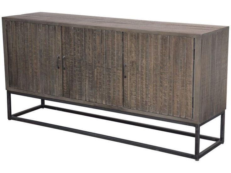 Stock Program Sebastian Sideboard/TV Console DENH7076ST from Walter E. Smithe Furniture + Design
