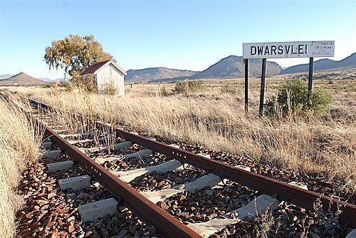 Dwarsvlei Railway Station near Middelburg