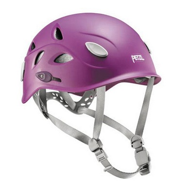 The Petzl Elia rock climbing helmet - so comfortable you'll forget you're wearing it!