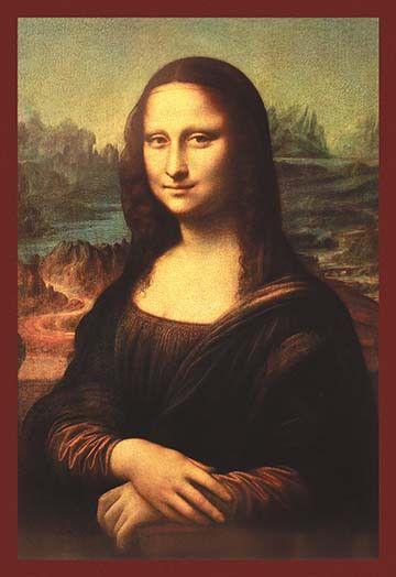 Mona Lisa Mona Lisa : More Pins Like This At : FOSTERGINGER @ Pinterest.