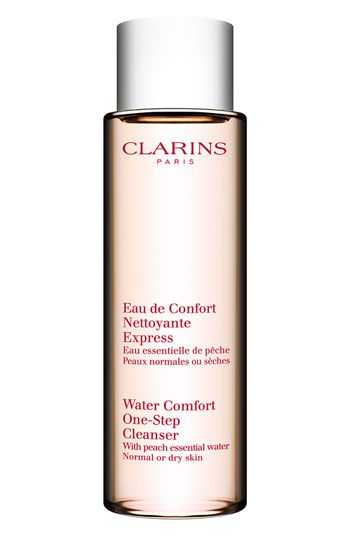 Clarins 'Water Comfort' One-Step Cleanser available at Nordstrom. Your cleanser and toner in one. Great to throw in your bag for after workouts.