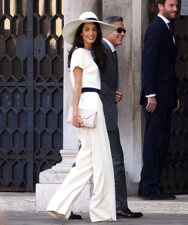 770ee70130b George Clooney and Amal Alamuddin civil ceremony in Venice