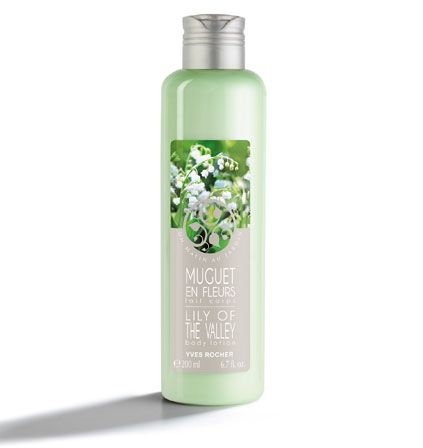 Lily of the Valley Body Lotion Found on the Champs Elysee.