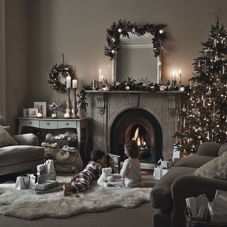 Best 20 Silver Christmas Decorations Ideas On Pinterest