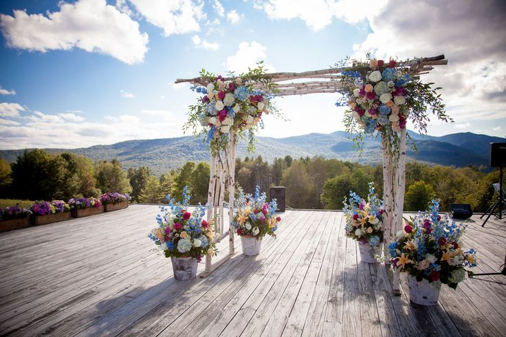 It's the view ...have been here and it is breathtakingly beautiful Sarah_Chris_Trapp_Family_Lodge_Wedding_Stowe_Vermont_Kathleen_Landwehrle_Photography_1