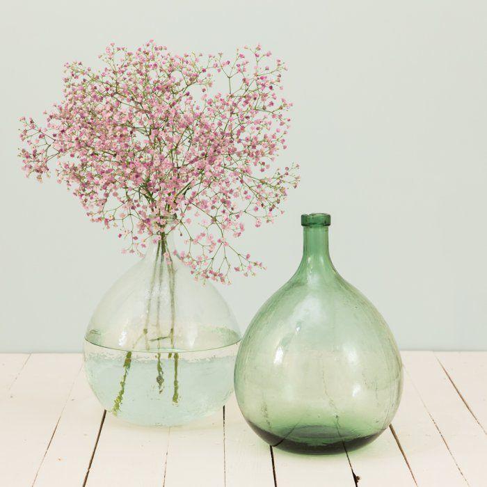 Dame Jeanne vintage en verre soufflé - LE PETIT FLORILEGE - Boutique d'objets de décoration d'intérieur